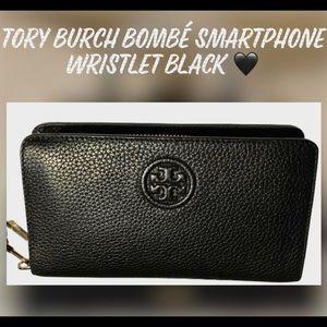 ⚫️BF⬇️TORY BURCH BOMBE SMARTPHONE WRISTLET BLACK